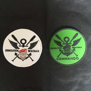 Commando morale patch (customizable moral/Velcro patches)