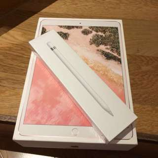 "ipad pro 10.5"" 256gb cellular 4g LTE version 連apple pencil 不散賣"