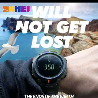 Jam tangan skmei water resist