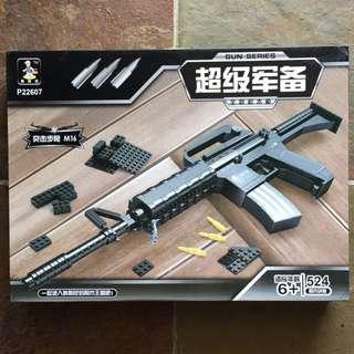Toy Gun M4A1 (M16 Gun Series) Building Bricks