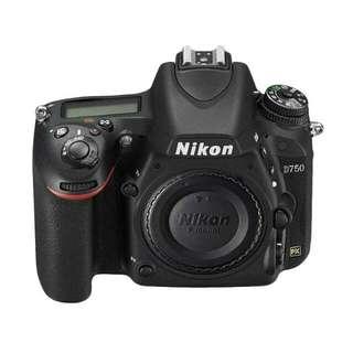 Nikon D750 FX-format Digital SLR Camera Kredit Mudah