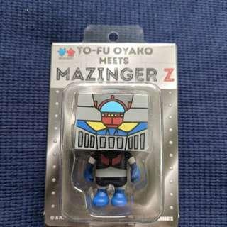 Devil Robots Signed Mazinger Z Vinyl Toy