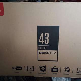 Tcl smart tv 43-in unopened box repriced
