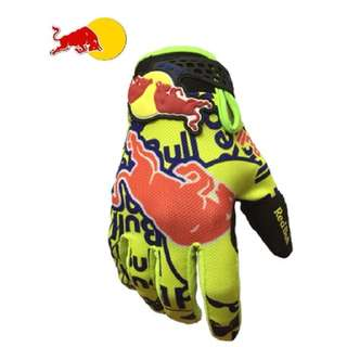 ★READY STOCK ★REDBULL ★ HIGH QUALITY MOTORCYCLE GLOVES ★BRIGHT YELLOW ★ E-SCOOTER GLOVES ★ MOUNTAIN BIKE ★ NEW ARRIVALS ★ CYCLING ★