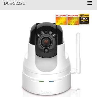 D-Link DCS-5222L HD PTZ Infrared Wireless Cloud IP Camera