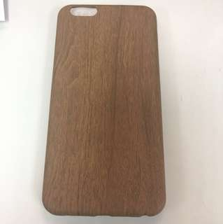 iPhone 6 Plus soft case - wood