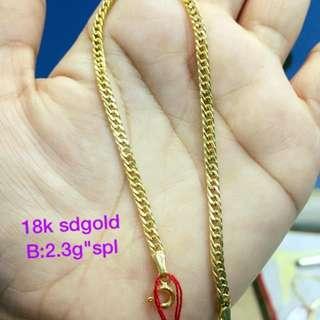 Unisex bracelet gold pawnable