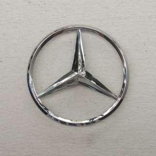 Genuine Mercedes Benz Rear Trunk Star