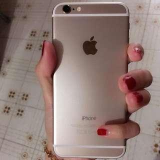 Iphone6金色64gb
