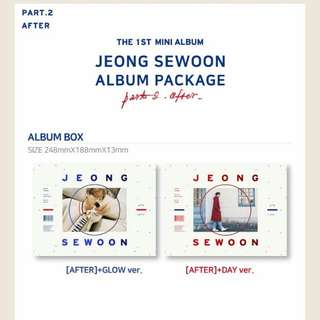 JEONG SEWOON-After [1st Mini Album Part.2]