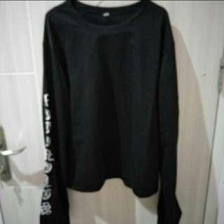 Baju sweater tangan panjang Korea swag