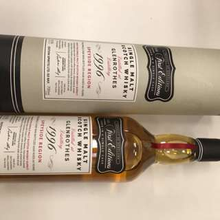Scotland Rare Whiskey (Glenrothes 1996 1st edition single cask)