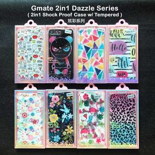 iPhone 7/ 7 Plus Gmate 2in1 Dazzle Series (Shock Proof Case w/ Fiber Temper)