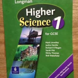 GCSE Higher Science