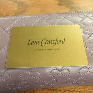 Lane Crawford gift card values HK$2910 (expiry 6 Apr)