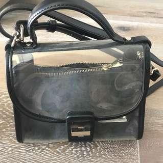 Zara lightweight pvc bag