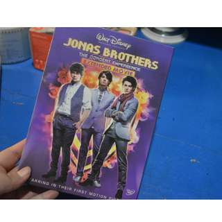 JONAS BROTHERS THE CONCERT EXPERIENCE DVD