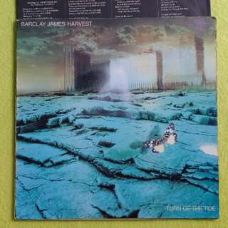 BARCLAY JAMES HARVEST. turn the tide.(Printed in France) Vinyl record