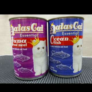 ATAS CAT canned food 400gr all flavours