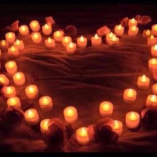 LED Smokeless Candles Light for decoration/ Proposal/ Wedding/ celebration
