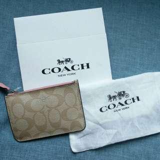 Coach銀包