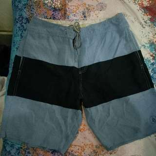 authnetic volcom  short for men