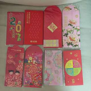 All for $10 - Assorted Brandnew red packet/angbao/hongbao year 2017