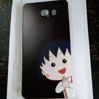 `- samsung C7手機軟套(可愛女款桃小丸子卡通)`