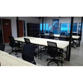 Co-Working Spaces & Rooms
