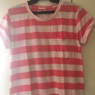 Kamiseta pink stripes