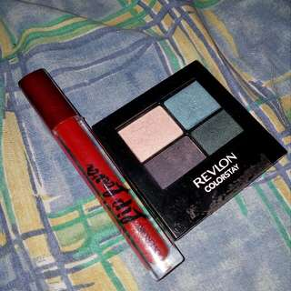 Eyeshadow with lippie