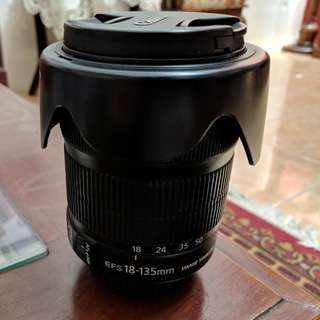 LENSA CANON 18-135mm IS STM