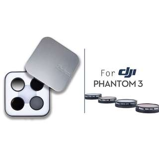 Daisee Filter Set for Phantom 3 / 4