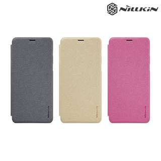 Galaxy A8 2018 NILLKIN 星韻 超薄翻蓋皮套 耐磨防滑保護套Flip Case GSA3972A