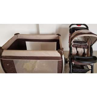 STROLLER CRIB BABY CARRIER BUNDLE