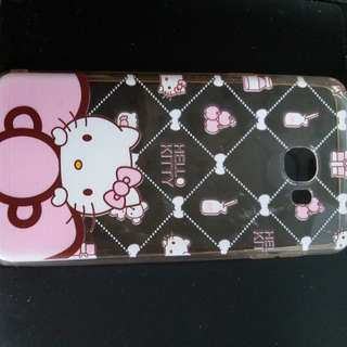 `-Samsung c7hello kitty手機軟殼