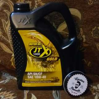 JTX GOLD 4 L (Fully Synthetic)