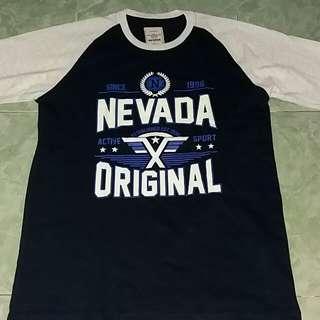 Kaos Nevada Original Size L Murah