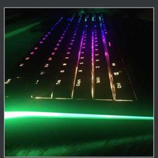 RK Royal Kludge 青軸 機械鍵盤 104 rgb led