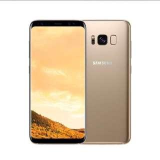 Samsung S8 MapleGold