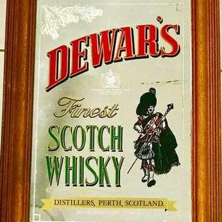 Dewar's Scotch Whisky Bar Mirror