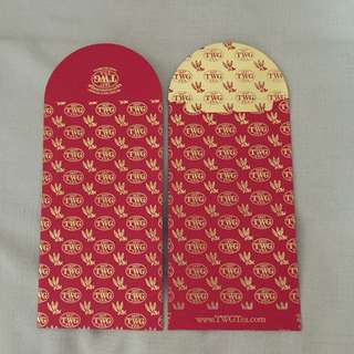 2pcs $5. 4pcs $8 - BN 2017 TWG red packet/ang pao
