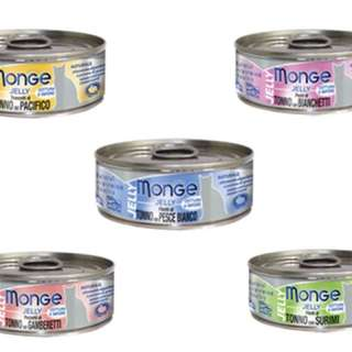 Monge Jelly Cat Food 80g