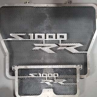 bmw s1000rr radiator and oil cooler guard