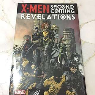 Marvel Comics X-men Second Coming Hardcover