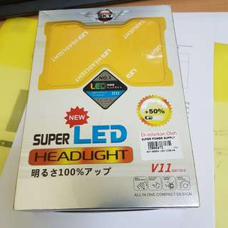 LED HEADLIGHT 5000K