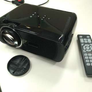 BNIB Portable home theater LED Projector