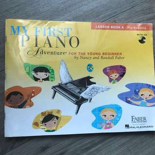 My First Piano Adventure Book A