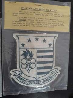 Vintage cloth patch