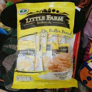 泰國 LITTLE FARM 吐司餅乾 奶油口味